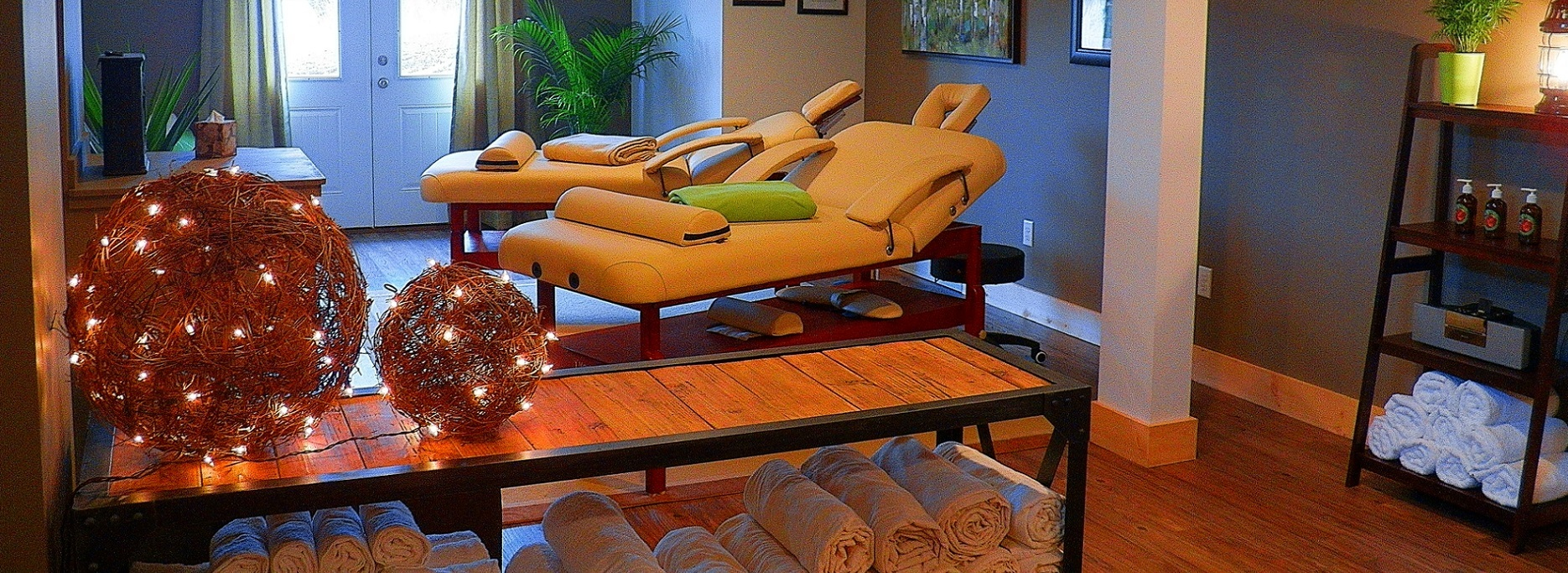add a massage or sauna session to your stay