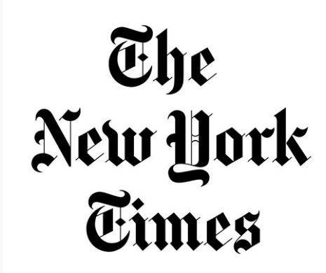 NYTimes logo and link